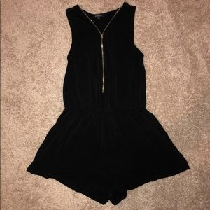 Ambiance Zip Up Romper